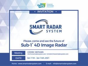 Smart Radar System attends All-Digital CES2021.