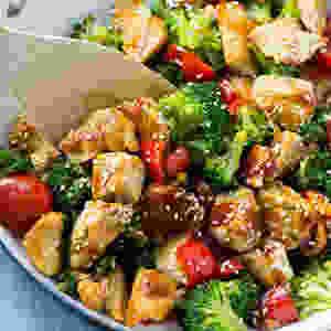 Healthy meal recipe
