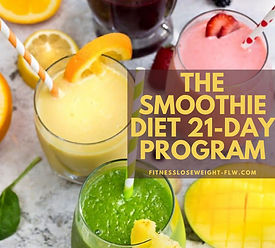 Smoothie diet recipes for weight loss