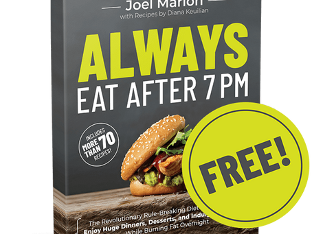 Always Eat After 7pm - Lose 14 Pounds in 14 Days.! Diet Program