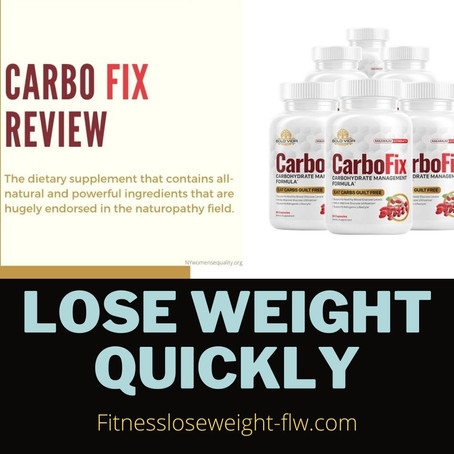 Carbofix Weight Loss Supplement