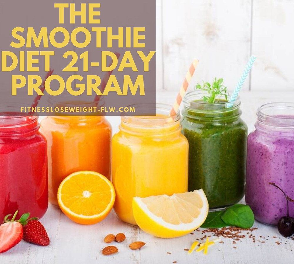 21 day smoothie diet before and after