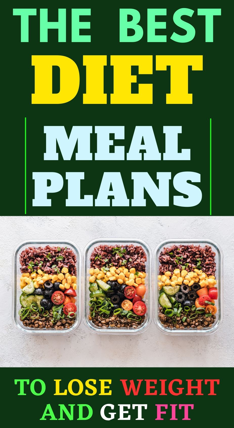 Diet meal plan programs