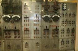 Control panel.