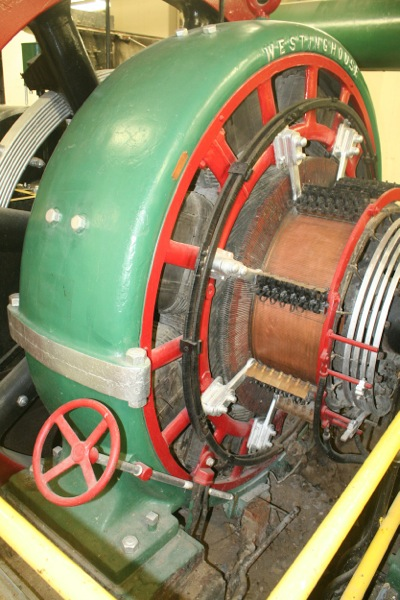 Westinghouse DC generator.