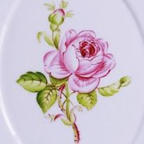 憧れのマイセンの薔薇