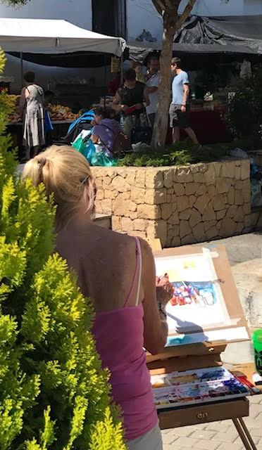 Painitng Altea Mercado