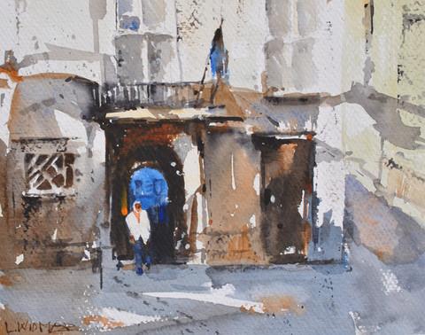 Ciutadella Street Scene