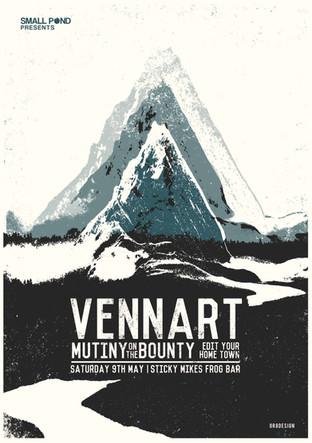 Vennart, Mutiny on the bounty @ Sticky Mikes Frog bar