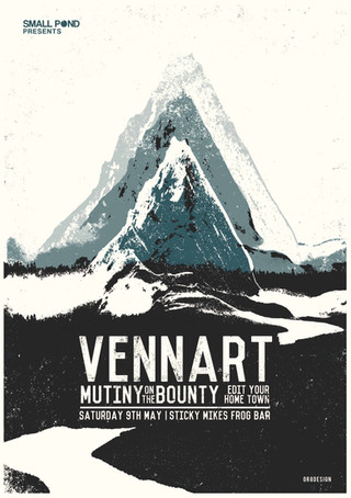 Vennart, Mutiny on the bounty @ Sticky Mikes Frog bar