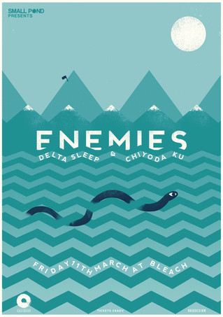Enemies, Delta Sleep, Chiyoda Ku @ Bleach