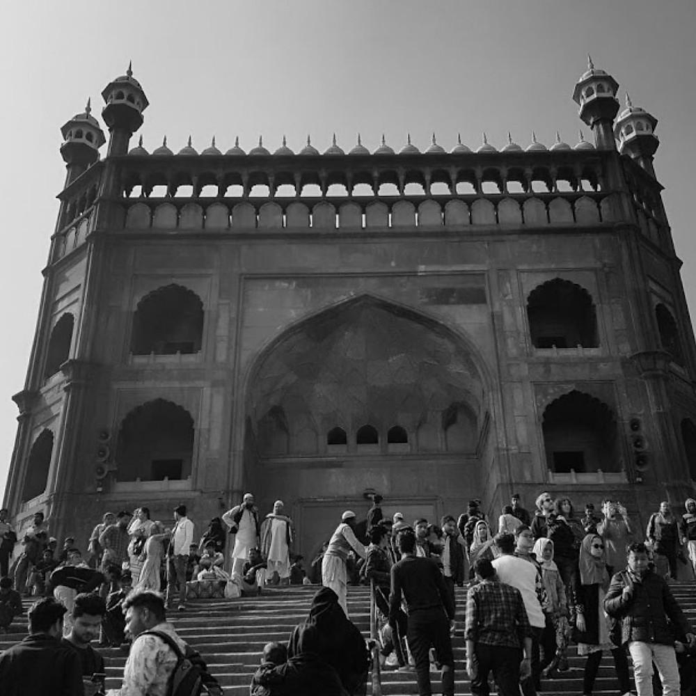 Delhi Jama Masjid travel