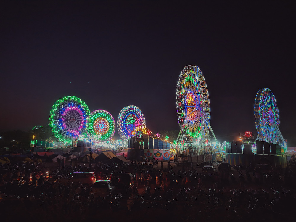 an amusement park in india