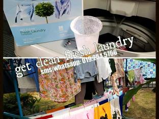 Get Clean Fresh Laundry: Rakan Baik Isteri Ketika Musim Tengkujuh