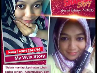 Testimoni: VIVIX dan Berpantang