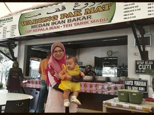 Dr Nadia Food Review: Warong Pak Mat: Teh Tarik Madu & Sup Ikan
