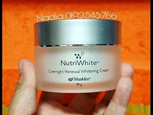 Nutriwhite: Overnight Renewal Whitening Cream