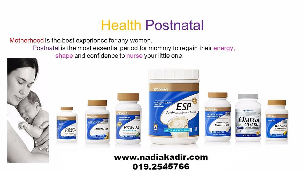 postnatal shaklee