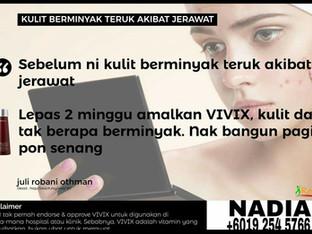 Testimoni: Vivix untuk Kulit Sihat