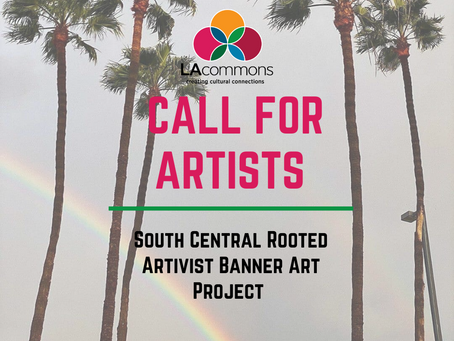 Call for Lead Visual Artist and Lead Photographer!