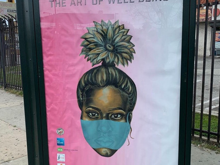 The Art of Well-Being: Now on a Bus Bench Near You