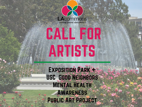 Call for Lead Visual Artist and Associate Artist