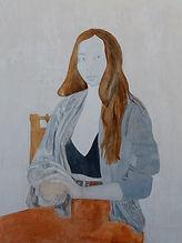 Painting technique La affascinante 60 x80 cm Stàn Bert Singer 2021