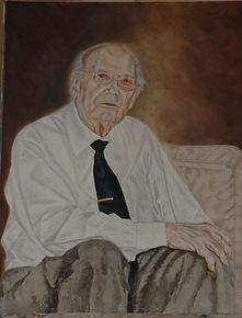 Portrait painting by Stan Bert Singer Titel: W.F. Grandpa.jpg