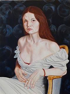 0132 Julia Stàn Bert Singer 2021 Oil on Woodpanel.jpg