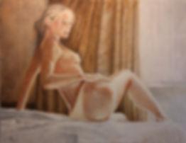 Nude Painting by Stan Bert Singer, Titel:Andrea C.jpg