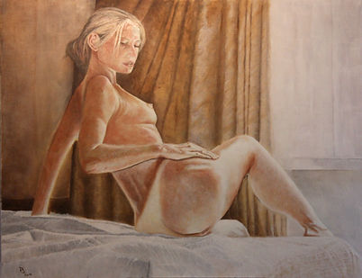 Andrea C. Oil on Canvas Stan Bert Singer 2014