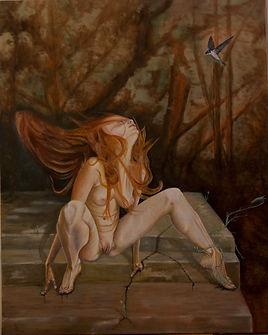 Chloris Oil on Canvas Stan Bert Singer 2018