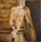 048 Anette Oil on Canvas Stan Bert Singer