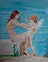 Did Venus loose the fight against Cupid_