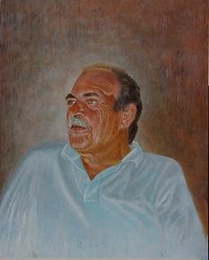 Portrait Painting by Stan Bert Singer Titel:Dimitri.jpg