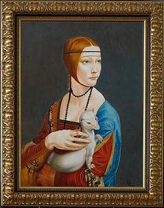 0111 Frau mit Hermelin HD mit Rahmen.jpg