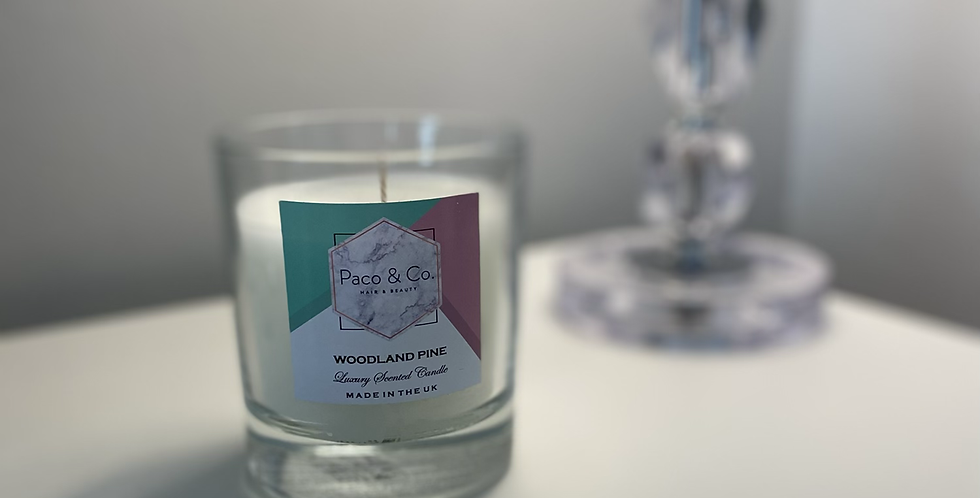 Woodland Pine Candle