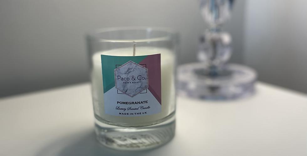 Pomegranate Candle