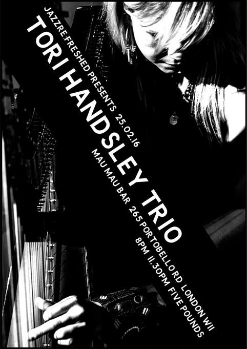 Tori Handsley Trio 25.02.16 Mau Mau london