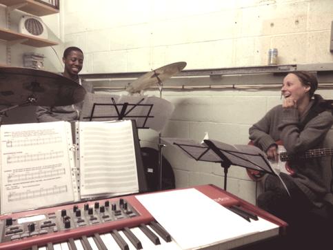 Rehearsals!...