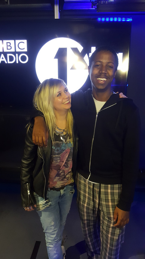 Interview with Tori live on Radio1Xtra!
