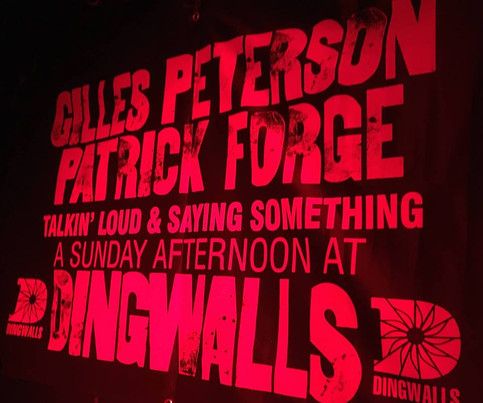 TORI HANDSLEY LIVE AT DINGWALLS! WITH GILLES PETERSON & PATRICK FORGE
