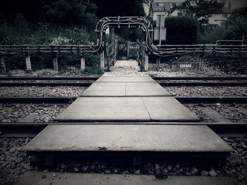 If anyone needs a bit of musical healing - 'Other Side of the Train Tracks' - Tori Handsley