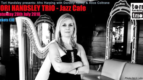 Tori Handsley Headlines renowned Jazz Cafe this summer!