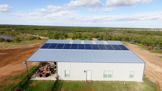 Anson, Tx Solar Install, West Texas Solar