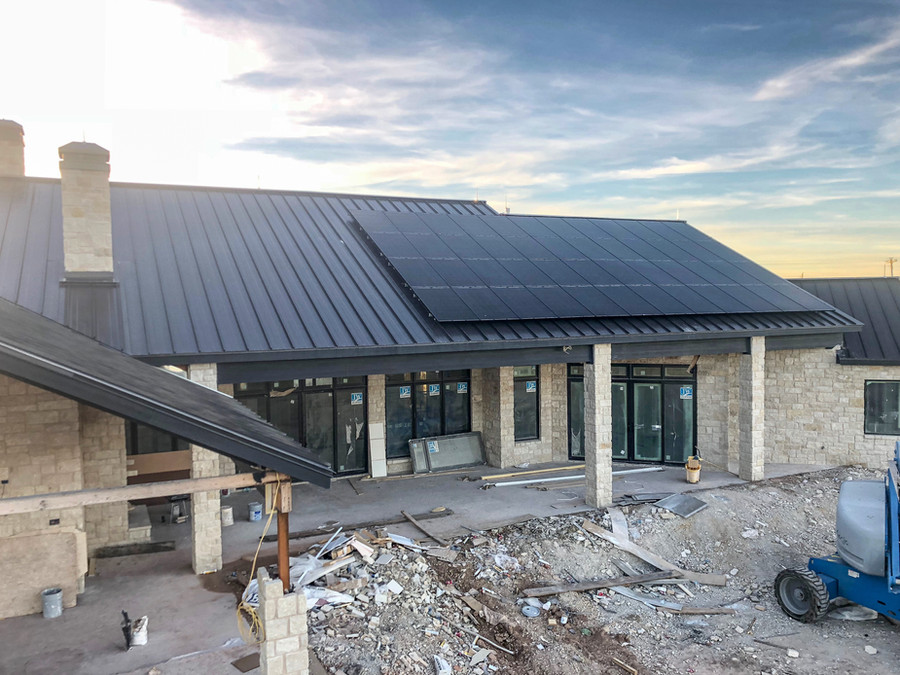 West Texas Solar/Trina Solar Panels