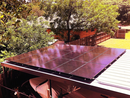 Bushhhhhhh Goes Solar!!!
