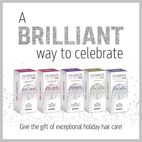 Dual Senses Holiday Pack Rich Repair Shampoo and Conditioner