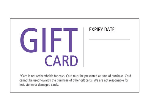 The Colour Room Gift Card $50.00