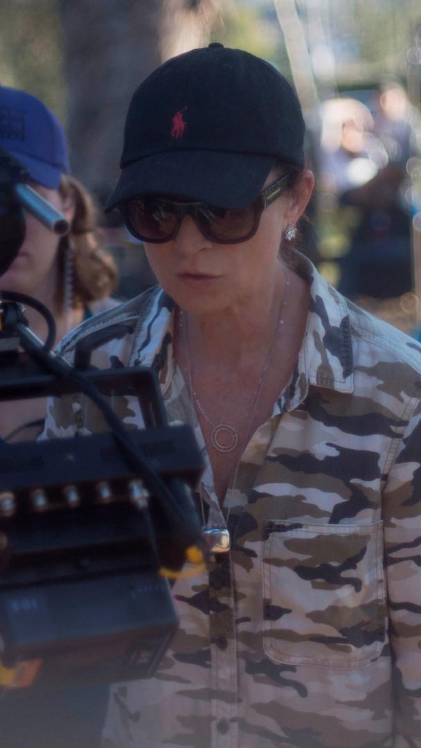 Valerie Dalena on set.jpg